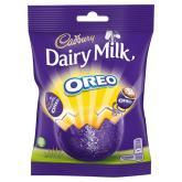 Cadbury Dairy Milk Oreo-gefüllte Schokoladenostereier aus England.