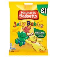 Cadbury Maynards Bassetts Jelly Babies Fruchtgummi