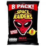 Space Raiders Baked Chips Multiapack