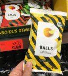 Wildcorn Bio-Balls Snack Meersalz+Zitronenpfeffer
