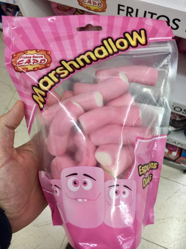 Cap Marshmallow Pinke Schläuche