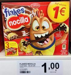 Cuetara Nocilla Flakes Gefüllte Kekstäschchen