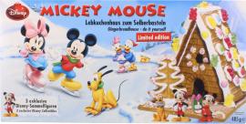 Disney Mickey Mouse Lebkuchenhaus zum Selberbasteln 485 Gramm