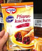 Dr. Oetker Süße Mahlzeit Pfannkuchen mit Crepes-Rezept