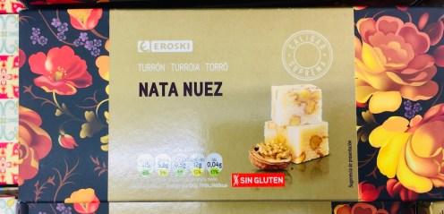 Eroski Turron Nata Nuez Walnuss
