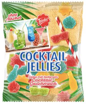 Friedel Cocktail Jellies ohne Alkohol Cocktail-Geschmack