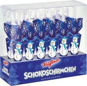 Küfferle Schokoschirmchen Schneemann-Motiv