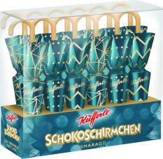 Küfferle Schokoschirmchen-Smaragdfarben 12er Karton