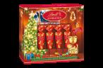 Lindt Schirmchen aus Schokolade Chocoschirmchen Vollmilch mit Nougat Weihnachtsedition