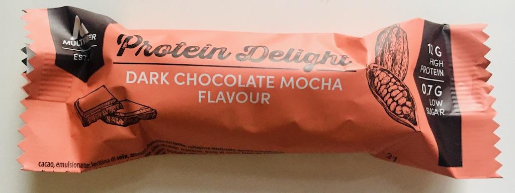 Multipower Protein-Delight Riegel Dark Chocolate Mocha Flavour