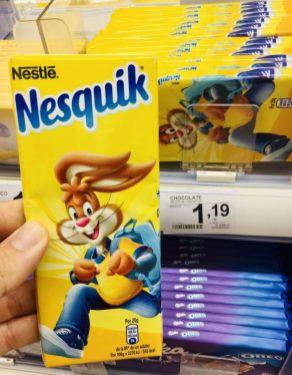 Nestle Nesquik Tafelschokolade
