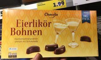 Penny Chocola Eierlikör Bohnen 500 Gramm