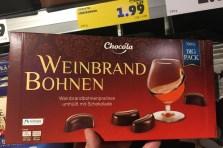 Penny Chocola Weinbrand Bohnen 500 Gramm