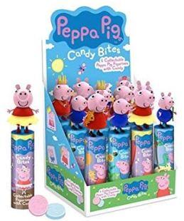 Peppa Pig Candy Bites mit Spielzeug Display