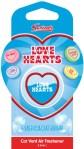 Swizzels Love Hearts Car Air Freshener Blue Candy Floss