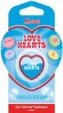 Swizzels Love Hearts Car Air Freshener Blue Candy Floss