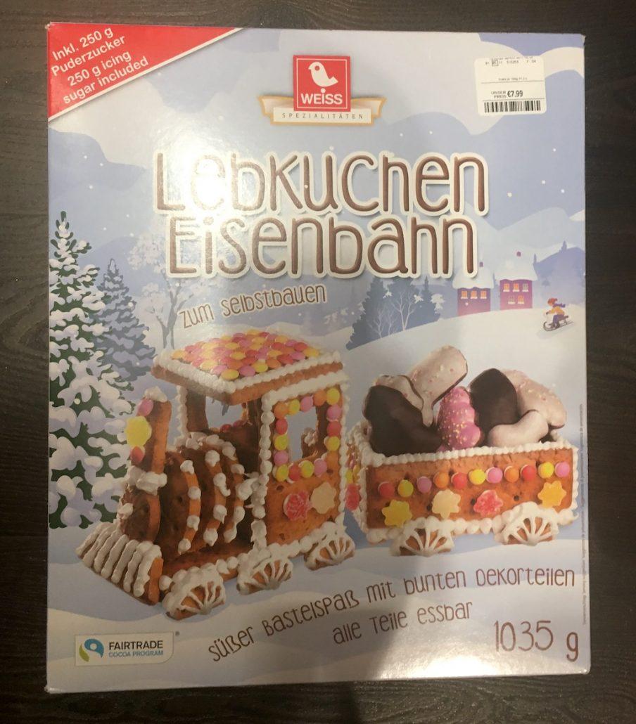 Weiss Spezialitäten Lebkuchen-Eisenbahn