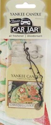 Yankee Candle Car Jar Christmas Cookie Car Freshener
