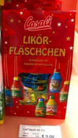 Casali Likör-Fläschchen Schokolade mit alkoholischer Füllung