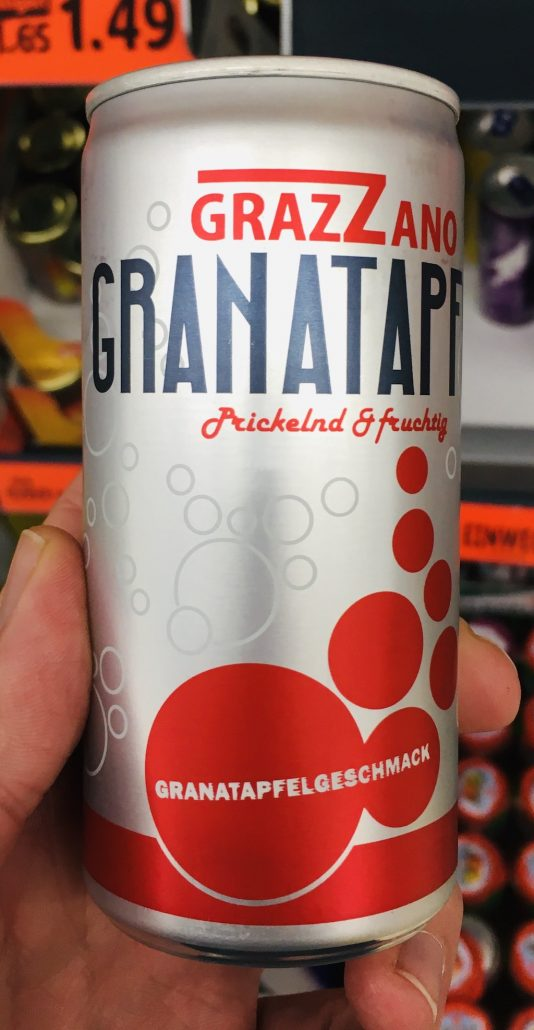 Grazzano Granatapfel Prickelnd+Fruchtig Granatapfelgeschmack