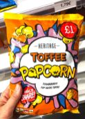 Heritage Toffee Popcorn Comicdesign