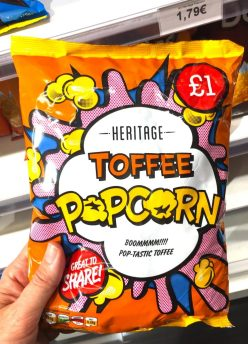 Heritage Toffee Popcorn Comicdesign