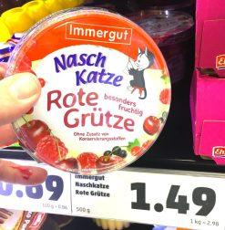 Immergut NaschKatze Rote Grüßte