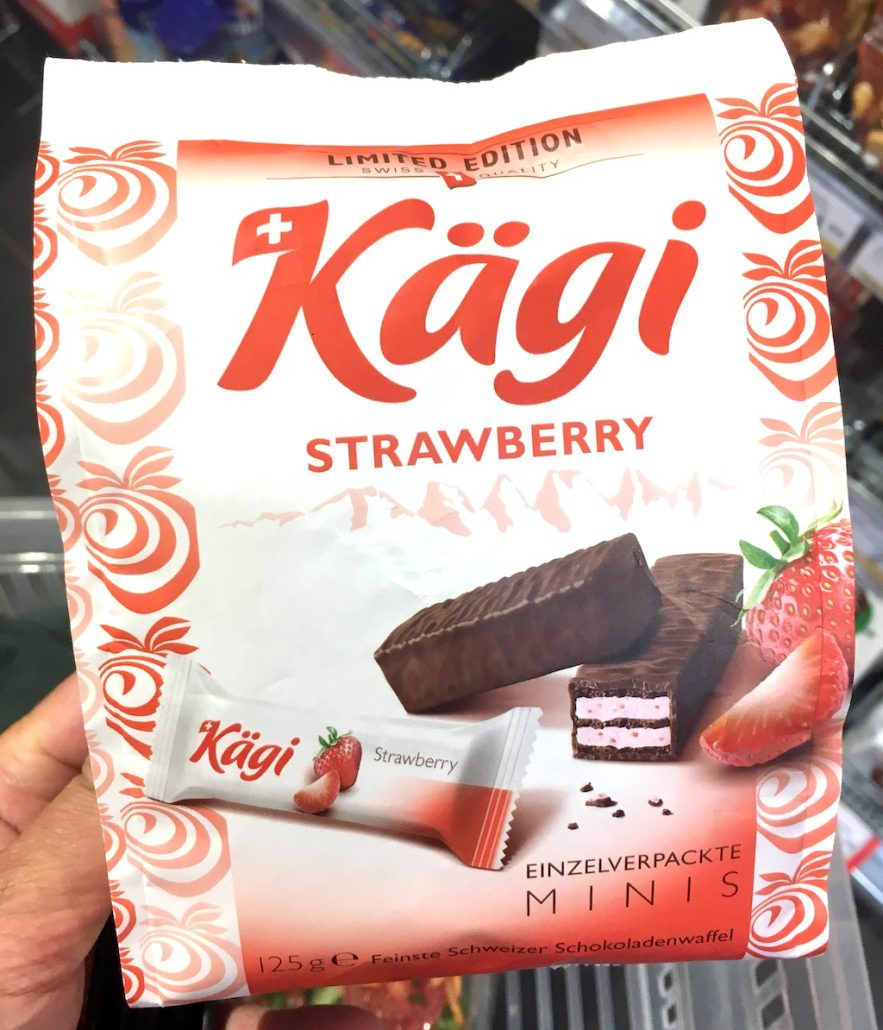 Kägi Strawberry Mnis Limited Edition 125 Gramm