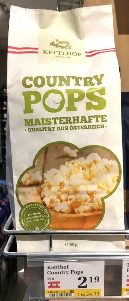 Ketthof Country Pops Maisterhafte Qualität aus Österreich Popcorn