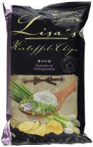 Lisa's Kartoffel-Chips Sauerrahm+Frühlingszwiebel Kesselchips