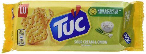 Lu Tuc Cracker Sour Cream+Onion mit Sonnenblumenöl