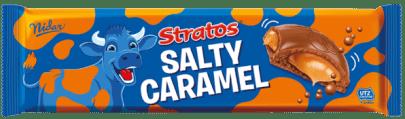 Nidar Stratos Salty Caramel Luftschokolade-Riegel