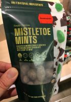 Simply Chocolate Mistletoe Mints Roasted Almonds Gently covered in premium Dark Chocolate with a hint of mint Copenhagen