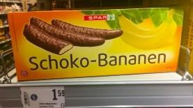Spar Schoko-Bananen 2019