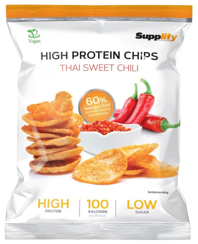 Supplify High Protein Chips Thai Sweet Chili Vegan