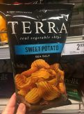 Terra Sweet Potato Sea Salt Kartoffelchips Easy Open
