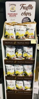 Schmales Display Zigante tartufi Trufle Chips Display