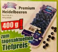 b-berry Premium Heidelbeeren - Blueberries - aus Peru-Chile 400 Gramm-Schale