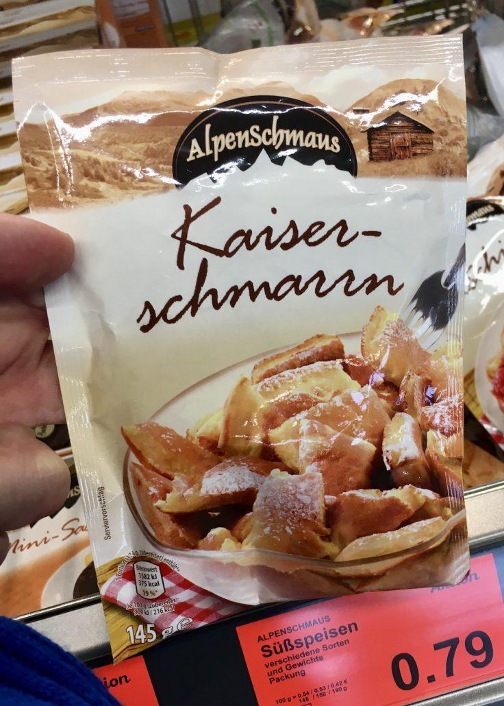 Aldi Alpenschmaus Kaiserschmarrn Backmischung