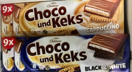 Aldi Chateau Choco und Keks Cappuccino + Black+White