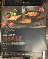 Aldi Premieur Fudge Chocolate Brownie 285 Gramm