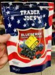 Aldi Trader Joes Blueberry gesüsst getrocknet 10 Gramm aus Kanada