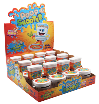 Alex Sweets Poop Shooter Toilette Dextrose Display