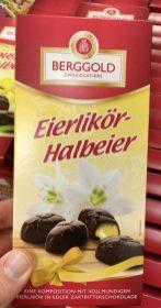 Berggold Eierlikör-Halbeier