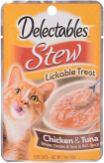 Delectables Stew Lickable Treat Chicken+Tuna Rich Sauce