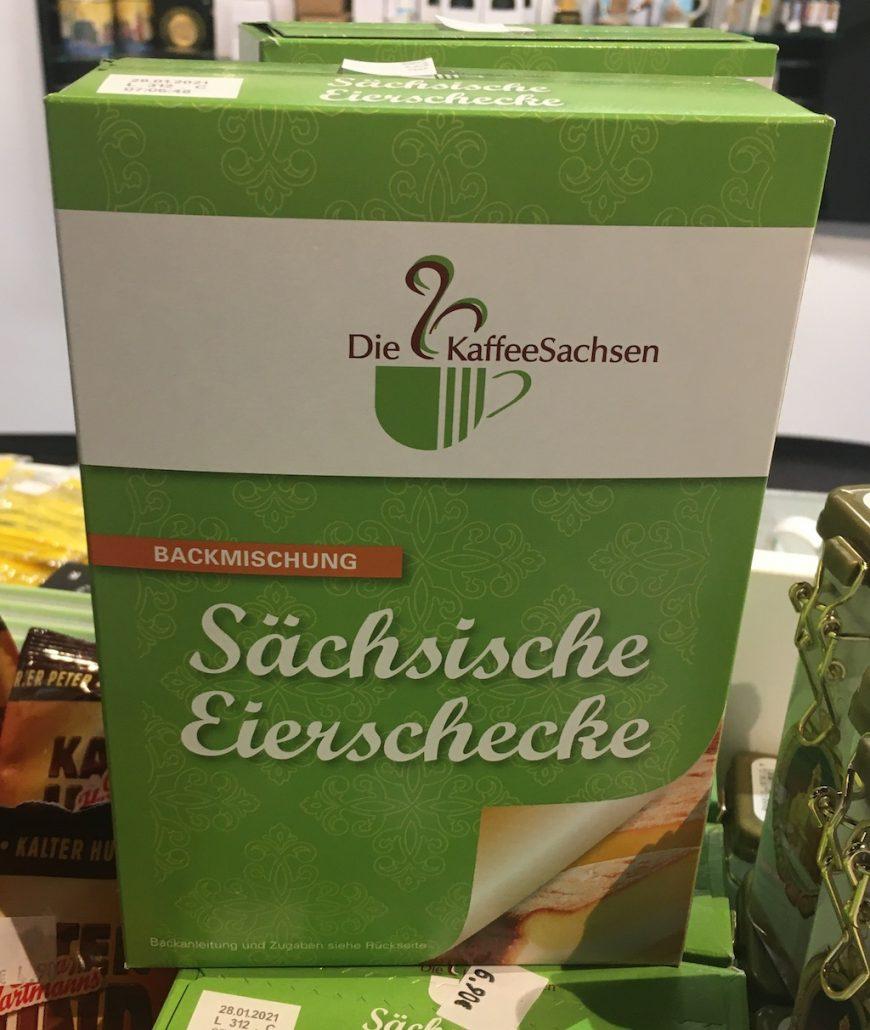 Die KaffeeSachsen Sächsische Eierschecke Backmischung
