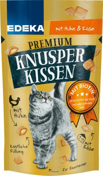 EDEKA Premium Knusper-Kissen mit Huhn+Käse