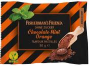 Fisherman Friends Chocolate Mint-Orange ohne Zucker 30g