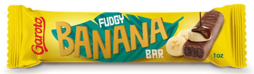 Garoto Fudgy Banana Bar Fudgeriegel mit Bananengeschmack