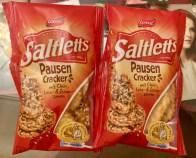 Lorenz Saltletts PausenCracker mit Chia- Lein- und Sesamsamen mit Meersalz